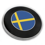 Emblem Aufkleber Schweden