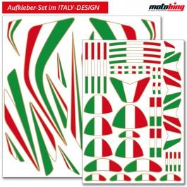 Italy Aufkleber Set