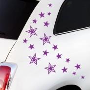 Autoaufkleber Sterne
