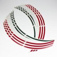 Felgenrandaufkleber GP Italy