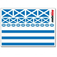 Flaggenaufkleber - Schottland