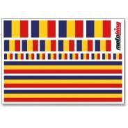 Flaggenaufkleber - Rumänien