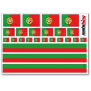 Flaggenaufkleber - Portugal