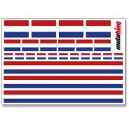 Flaggenaufkleber - Niederlande