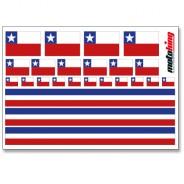 Flaggenaufkleber -