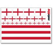 Flaggenaufkleber - England