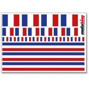 Flaggenaufkleber - Frankreich