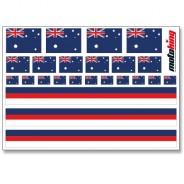 Flaggenaufkleber - Australien
