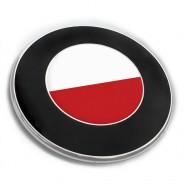 Emblem Aufkleber Polen