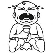 Babyaufkleber Lennard