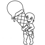 Babyaufkleber Luis