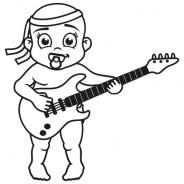 Babyaufkleber Noah