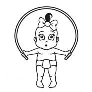 Babyaufkleber Leonie