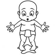 Babyaufkleber Moritz