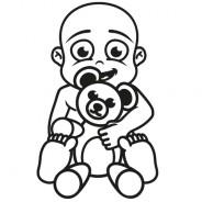 Babyaufkleber Philipp