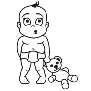 Babyaufkleber Luke