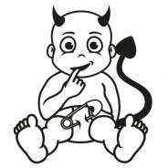 Babyaufkleber Jona