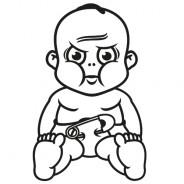 Babyaufkleber Till