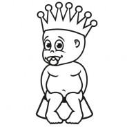 Babyaufkleber Pepe