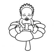 Babyaufkleber Jennifer