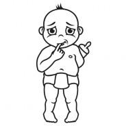 Babyaufkleber Leo