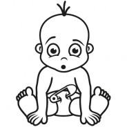 Babyaufkleber Kai