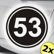 Startnummer Rennnummer Herbie
