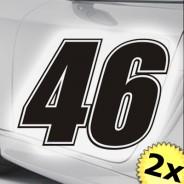 Startnummer Rennnummer Rossi Moto GP